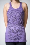 Sure Design Womens Durga Tank Top Purple