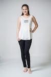 Super Soft Sure Design Women's Tank Tops Peace Sign White