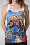 Mirror Sure Design Women's Tank Top Ohm White