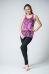 Sure Design Womens Sanskrit Buddha Tank Top Pink