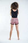 Sure Design Tribal Prints Super Light Pom Pom Shorts Red/Black