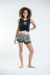 Sure Design Tribal Prints Super Light Pom Pom Shorts Black/Black