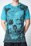 Sure Design Mens Wonderland Tshirt Turquoise