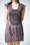 Sure Design Womens Dreamcatcher Dress Brown