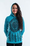 Sure Design Unisex Hoodie Dreamcatcher Turquoise