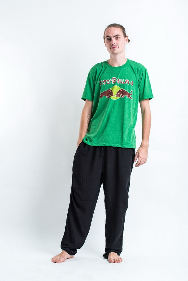 Vintage Style Red Bull T-Shirt in Green