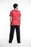 Mens Spades Eye T-Shirt in Red