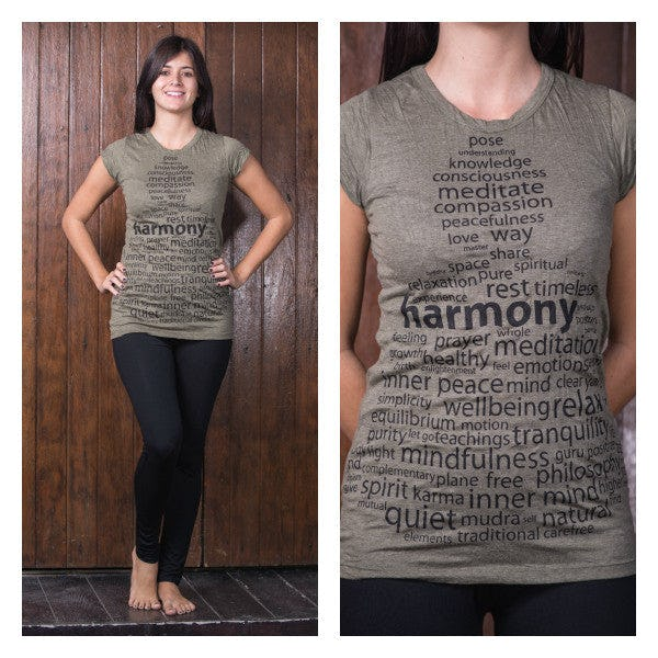 Sure Design Womens Harmony T-Shirt Green