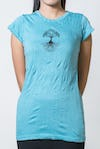 Super Soft Sure Design Women's T-Shirts Tree of Life Turquoise