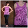 Sure Design Womens Durga Tank Top Pink
