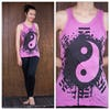 Sure Design Womens Infinitee Yin Yang Tank Top Pink