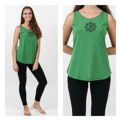 Super Soft Sure Design Women's Tank Tops Dream Catcher Green