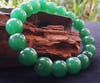 Lucky Stone Hand Made Bracelet Elastic With Green Adventurine