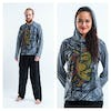 Sure Design Sun and Moon Hoodies Gray
