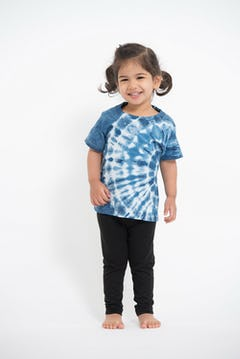 Kids Baby Tiger T-Shirt in Turquoise